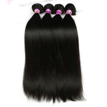 Peruvian straight Virgin Hair Weave 3Bundle Human Hair Extension 100%Unprocessed