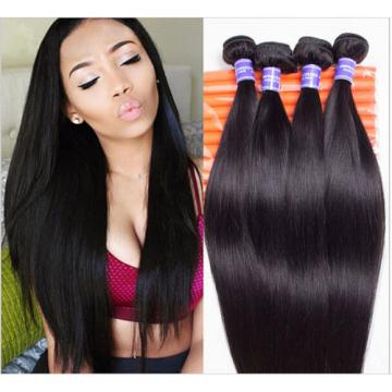 Cheap!Virgin peruvian human hair wave 1bundle/100g silky straight hair extension