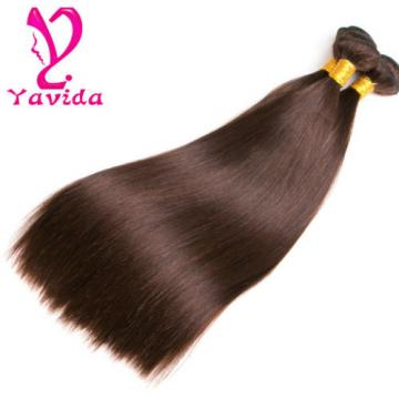 7A Unprocessed Virgin Peruvian Straight Human Hair Extension Weave 3Bundles/300g