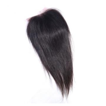 Peruvian Straight Virgin Hair Weft 4 Bundles 200g with Lace Frontal Closure DHL