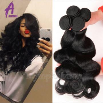 6 Bundles Peruvian Hair Virgin Human Hair Extensions Weave 100% Virgin hair