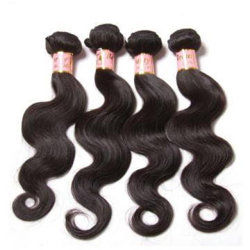Peruvian Body Wave Virgin Human Hair Unprocessed Hair Extensions 4 Bundles/200g