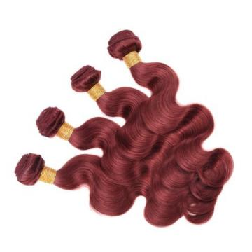 Virgin Brazilian/Peruvian/Indian Human Hair Extensions 95g/bundle Body Wave