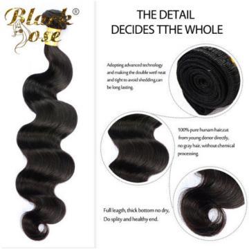 13X4 Ear to Ear Lace Frontal Closure + 3 Bundles Peruvian Virgin Hair Body Wave