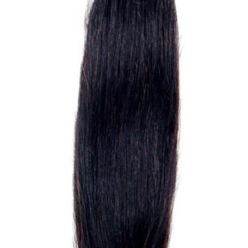 Unprocessed Virgin Peruvian Straight Silky 4 Bundles/200g Human Hair Extension