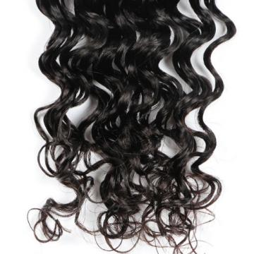 Deep Wave 7A Peruvian Virgin Human Hair Weft Weave Extension Natural Color 100g