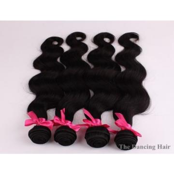 4 bundles Peruvian virgin hair body wave hair extensions