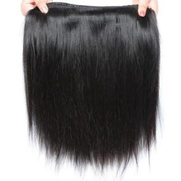 100% Unprocessed Peruvian Virgin Hair Extensions Weave Straight 4 Bundles 200g