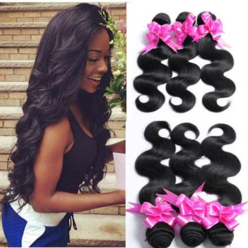7A 3 Bundles/150g 100% Peruvian Human Virgin Hair Wavy Body Wave Weave Weft