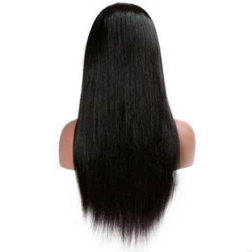 7A Brazilian Virgin Human Hair Straight Glueless Lace Front Wigs/Full Lace Wigs