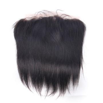 Free Part 13x4 Lace Frontal Closure Peruvian 7A Straight Virgin Human Hair