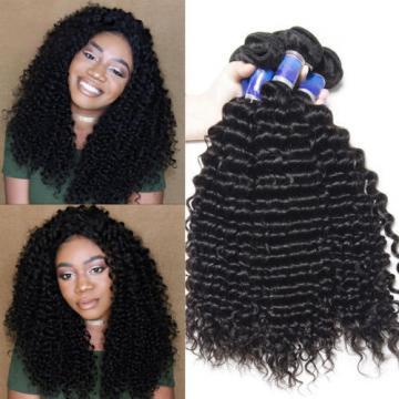 Deep Curly Peruvian Virgin Hair 3 Bundles 7a Unprocessed Virgin Peruvian Curly