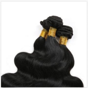 3 Bundles Unprocessed Peruvian Virgin Body Wave Hair Extensions Weaves 150G All