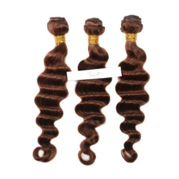 Peruvian hair Weave Hair Bundles of Loose Hair Color 30# Virgin Hair Extensions