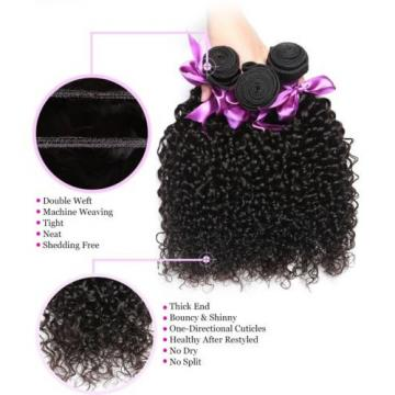Peruvian Curly Virgin Hair Weave 1 Bundles Human Hair Extension 100% Unprocessed