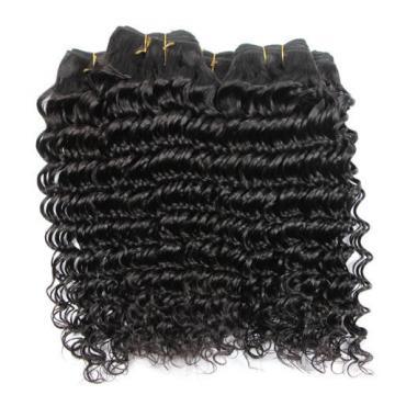 4 bundles Peruvian Virgin Remy Hair Deep Wave Human Hair Weave Extensions