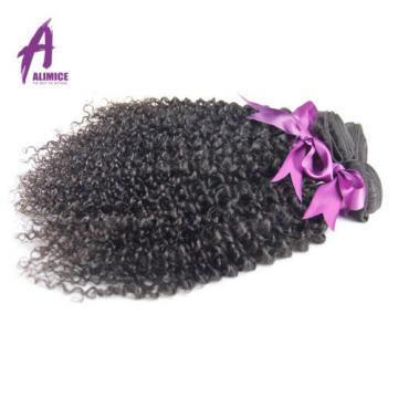 Peruvian Virgin Human Hair Extensions Weave Kinky Curly Hair 3 Bundles 300g