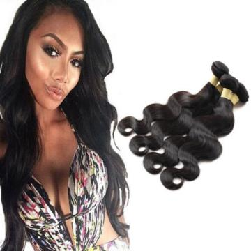 Unprocessed Peruvian Human Hair Bundles 400g Body Wave Virgin Hair Grade 7A Sale