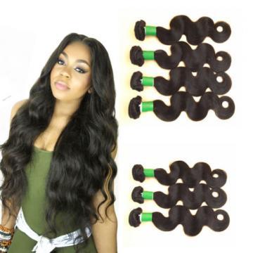 Body Wave Weave 3 Bundles 150g 100% Virgin Peruvian Human Hair Weft Extensions
