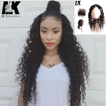 8A Peruvian Virgin Hair 360 Lace Frontal Closure loose Wave 22x2 360 lace band