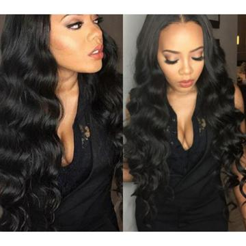 Brazilian Peruvian Human Hair Weaves Virgin Body Wave Hair Weft 3 Bundles 300g