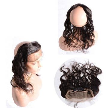 360 Lace Band Frontal Wavy 22x2inch Peruvian Virgin Human Hair Lace Back Frontal