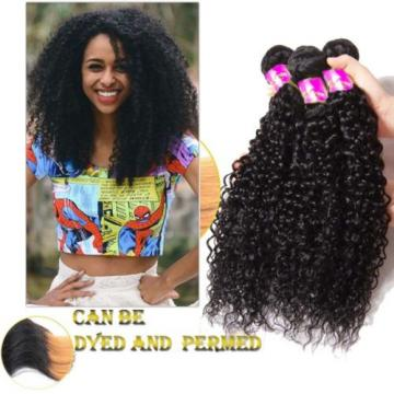 100% 3Bundles/150g Peruvian Curly Weave Virgin Hair Human Hair Extension Weft