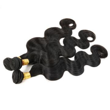 7A Peruvian Remy Hair Body Wave Hair Wefts Human Virgin Hair Weaves 16 inch
