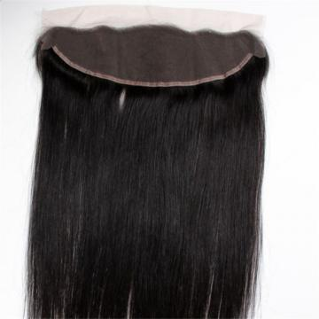 PERUVIAN BLEACHED KNOTS VIRGIN HUMAN HAIR 13X4 LACE FRONTAL FREE/TWO/THREE PART