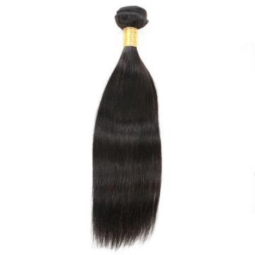 7A Straight Peruvian Virgin Hair Wefts Human Remy Hair Bundles 12 inch