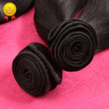 Peruvian Virgin Hair Straight 3 Bundles 7AUnprocessed Virgin Human Hair Straight