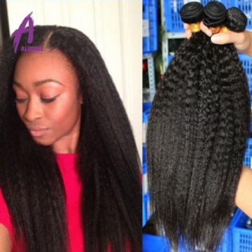 3 Bundles Brazilian Peruvian Indian Hair Human Hair Extensions Weave 300g