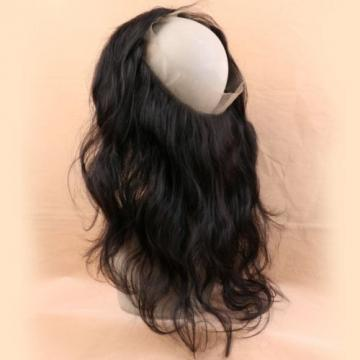 Pre Plucked 360 Lace Frontal With Bundle 3 Pcs Peruvian Virgin Hair Body Wave