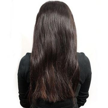"Peruvian Straight Full Lace Frontal Closure Virgin Human Hair 13""x4"" Ear To Ear"