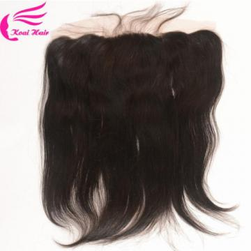13x4 Straight Full Lace Frontal Closure With 7a Peruvian Virgin Hair 3 Bundles