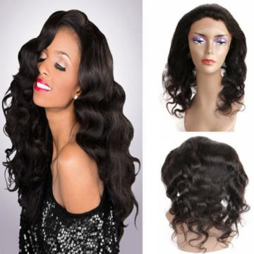 8A Pre Plucked 360Lace Band Frontal Closure Peruvian Virgin Human Hair Body Wave