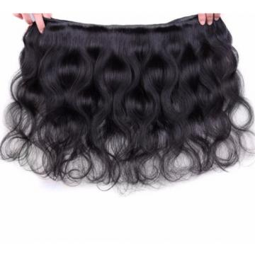 Virgin Peruvian Human Hair Extensions 300g Full Head Body Wave Hair Weft Promote