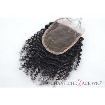 Best Curly Virgin Human Hair Lace Closures Peruvian Remy Kinky Curly Extensions