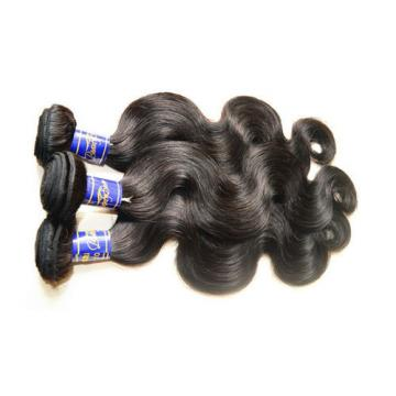 8A Peruvian Virgin Hair Body Wave 3Bundles 300g lot Natural Black Color