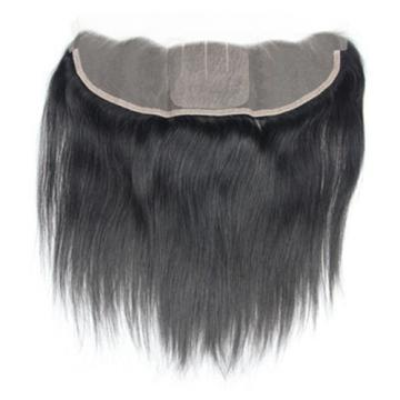 "Unprocessed Peruvian Virgin Hair Lace Frontal 13""x4"" Straight Silk Base 8""-22"""