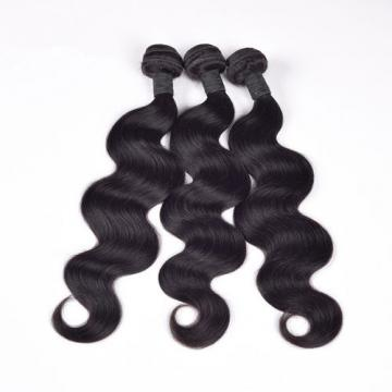 Virgin Peruvian Hair Body Wavy 2 Bundles & 1pc Pre Plucked 360 Lace Frontal