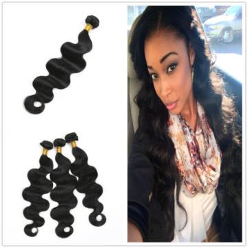 7A Peruvian Virgin Hair Body Wave Weave Unprocessed Remy Hair Extensions 24 inch