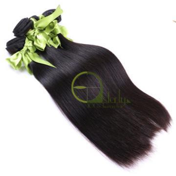 8A Peruvian Virgin Hair Straight 3 Bundles/150G Human Hair weave Extensions