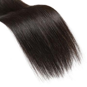 "7A Peruvian Virgin Hair Long Straight Weave Silky Hair Wefts Human Remy Hair 22"""
