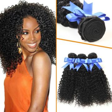 3 Bundles Curly Weave Peruvian Virgin Human Hair Jerry Curl Human Hair Extension