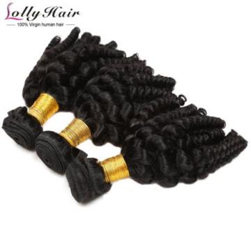 Hot Sale 7A Human Hair Afro Curl Weave Hot Sale Human Hair Extension 3Bundles