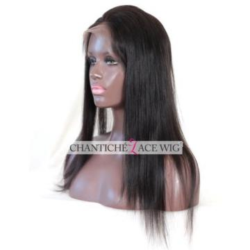 360 Lace Band Frontal Closure Peruvian Virgin Remy Human Hair Extension Straight