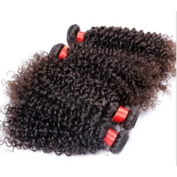 "100% Virgin-Brazilian-Peruvian-Malaysian Kinky-Curly-Human-Hair 100g 10""-28"""