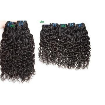 100% Pure virgin Brazilian/Peruvian water wave/wet and wavy human hair Weave