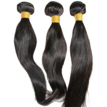 Mixed Length Peruvian Virgin Straight Hair Extension 14/16/18 Hair Weft 300g
